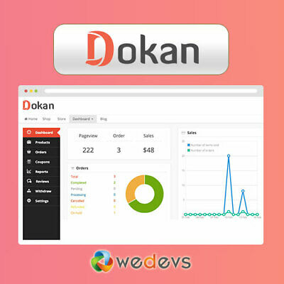 Dokan Pro Wordpress Plugin Complete Multivendor Pro Version 2020