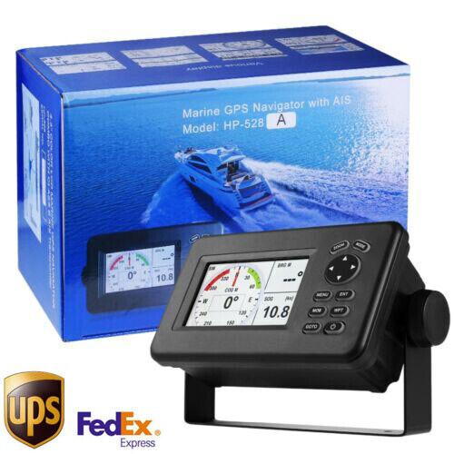 Matsutec 4.3-Inch Color LCD Chart Plotter Class B AIS GPS Navigator HP-528A