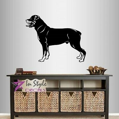 Vinyl Decal Dog Rottweiler Breed Kids Bedroom Pet Shop Wall Mural Sticker 2356