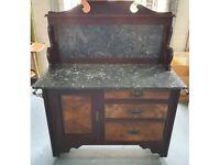 Antique Victorian fine wood bedroom set.