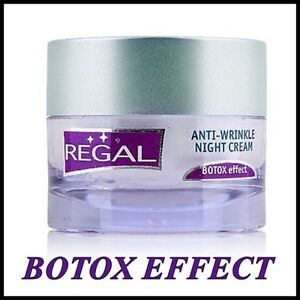NEW Regal Age Control Anti-Wrinkle NIGHT Cream Hyaluron Lift High Quality 45 ml