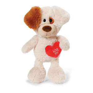 NICI-Valentine-Day-Puppy-Dog-Love-You-Heart-33cm-Soft-Plush-Toy-NEW