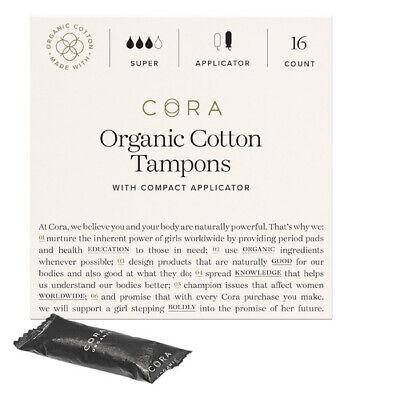 Seventh Generation Tampons Super Plus Non-Applicator Organic Cotton, 20 Count