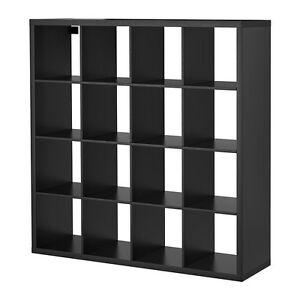 Ikea Kallax 4 x4 Shelving Unit - Black Brown Brunswick Moreland Area Preview