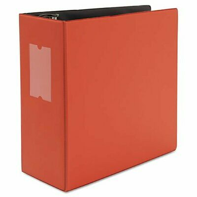 Universal Office Products 20716 D-ring Binder With Label Holder 5 Capacity
