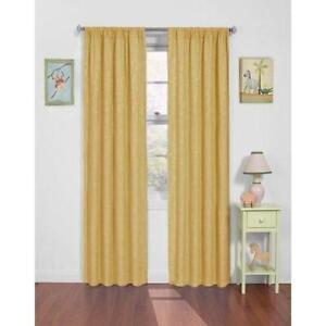 Yellow Nursery Curtains
