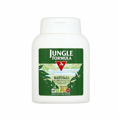Jungle Formula Natural Insect Mosquito Repellent LOTION IRF3 125ml