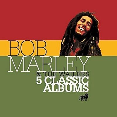 Bob Marley   Wailers   5 Classic Albums  New Cd  Holland   Import