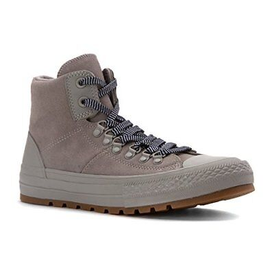 Converse Mens Chuck Taylor All Star In someone's bailiwick Hiker Suede Dolphin/Dolphin/Gum 8.5 M