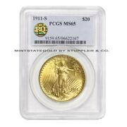 1911 $20 Gold