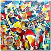 Gemälde Katze