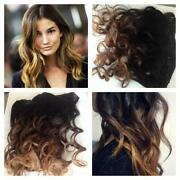 Clip in Human Hair Extensions Ombre