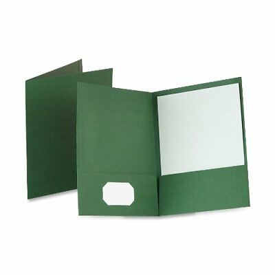 Oxford Linen Twin Pocket Folders - Letter - 8.50 X 11 - 100 Sheet Capacity - 2