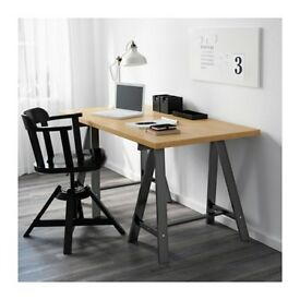 Ikea trestles black (ODDVALD) good condition 2 x for £10