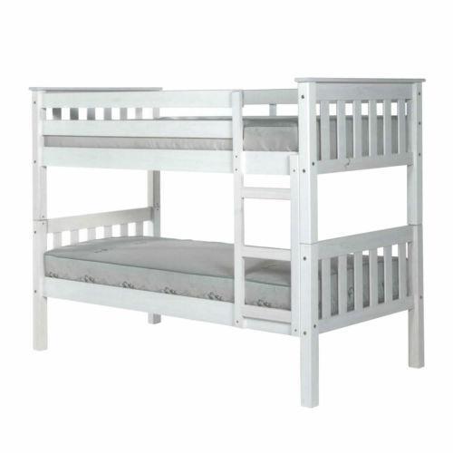Barcelona White Bunk Bed Ebay