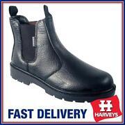 Steel Toe Cap Dealer Boots