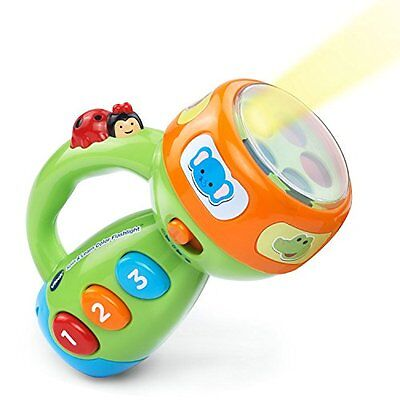 $17.10 - VTech Spin and Learn Color Flashlight Baby Kids Toddler Learning Educational Toy