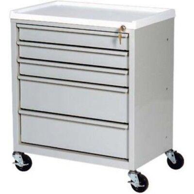 Harloff Five Drawer Economy Treatment Cart
