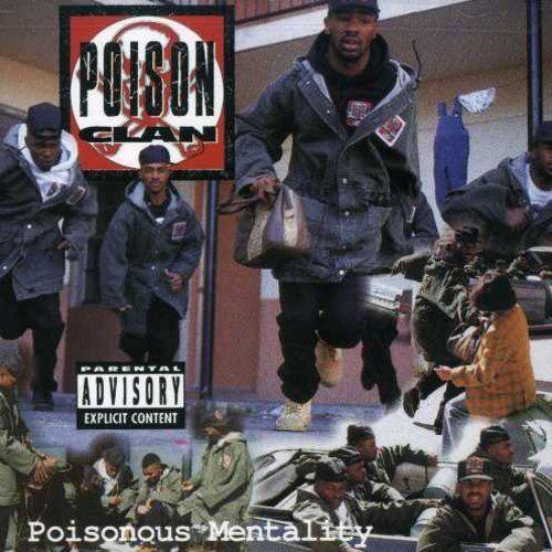 Poison Clan - Poisonous Mentality [New CD]