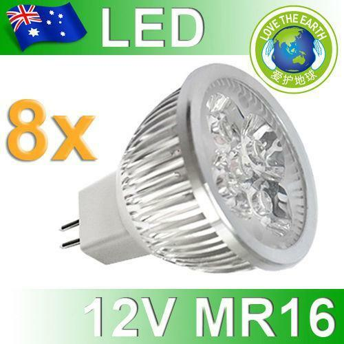 12v led globes mr16 ebay. Black Bedroom Furniture Sets. Home Design Ideas