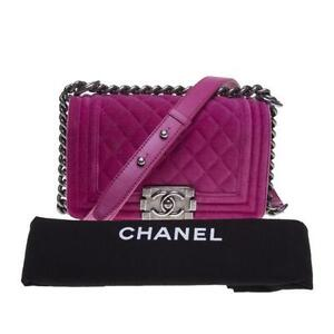Chanel Velvet Bag