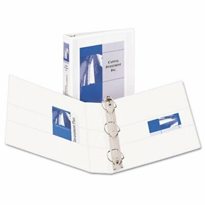 Avery Durable Ring View Binders 1-12 Capacity White Ave09401