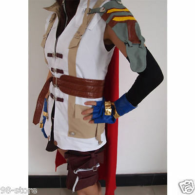 Brand new Final Fantasy XIII Lightning Halloween Cosplay Costume SIZE S