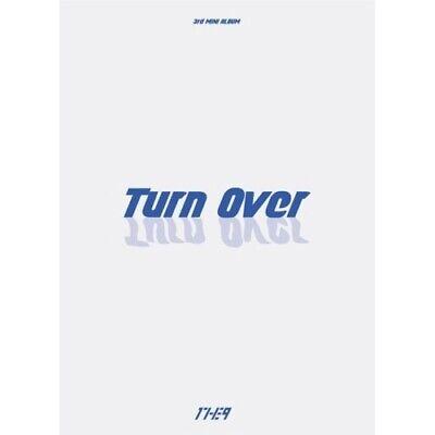 1THE9-[Turn Over] 3rd Mini Album CD+Poster+PhotoBook+Card+Bookmark K-POP Sealed
