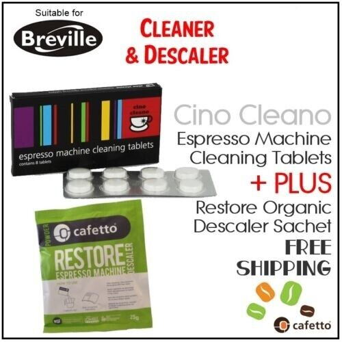 espresso coffee machine cleaning cleaner tablets organic