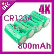CR123A Rechargeable 3V