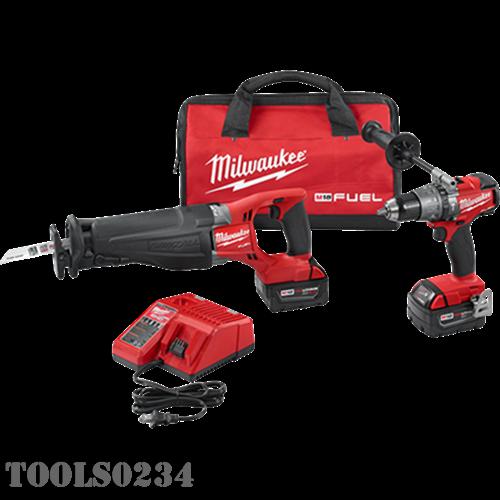 Milwaukee Tools 2894-22 M18 FUEL™ 2-Tool Combo Kit - POWER