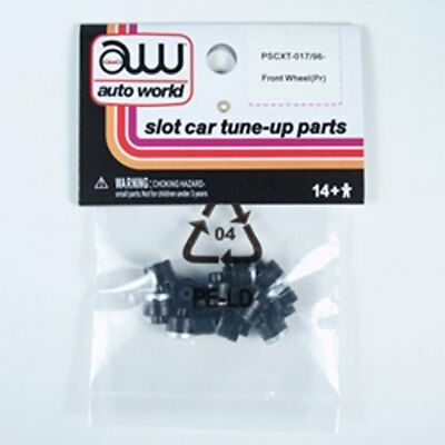 World Parts - Auto World XTraction Chassis Parts Front Wheel 12PK Ho Slot Car PSCXT-017