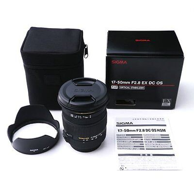 Sigma 17-50mm F2.8 EX DC OS HSM Zoom Lens for Nikon Mount #SI134X *CON*