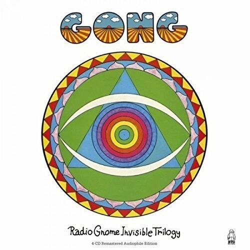 Gong Radio Gnome Invisible Trilogy 4 CD NEW sealed