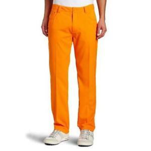 e7b55f0158c9 Orange Puma Golf Pants