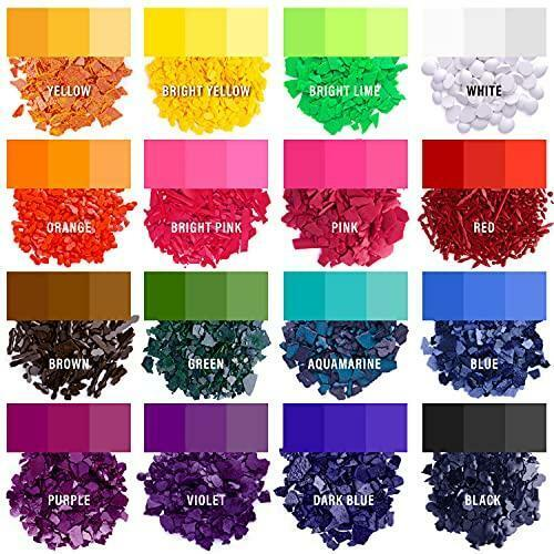 Candle Dyes - Wax Dyes for Candle Making - Color Chips for Candle Making - Wax