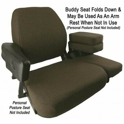 John Deere Sound Gard Cab Buddy Instructor Seat 4440 4240 4250 4430 4630 4455