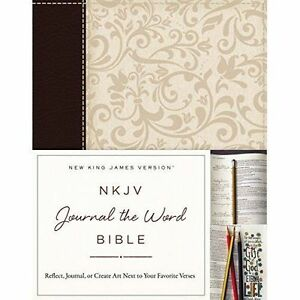 NKJV Journal the Word Bible Imitation Leather BrownCream Red Letter - <span itemprop='availableAtOrFrom'>Bourne, United Kingdom</span> - Items must be returned in new condition, still sealed where applicable. Full policy detailed on www.examots.co.uk Most purchases from business sellers are protected by the Consumer Contrac - Bourne, United Kingdom