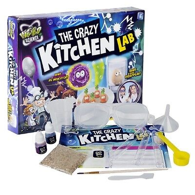 The Crazy Kitchen Lab Weird Chemistry Science Set Kids Educational Toy Gift 0090 - Kitchen Science