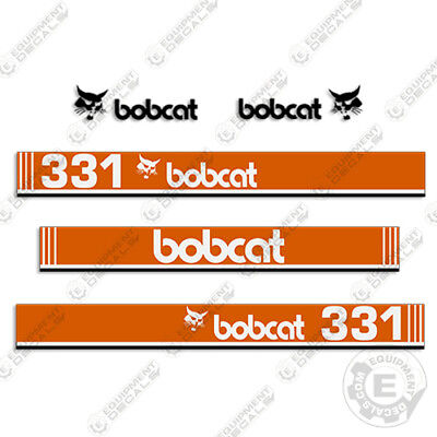 Bobcat 331 Mini Excavator Decals Older Style