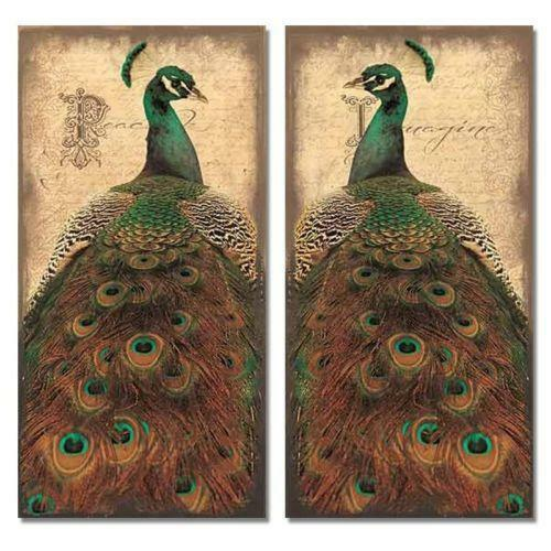Peacock home decor ebay - Outdoor peacock decorations ...