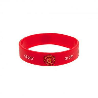 Manchester United Wristband Official Silicone Wrist Band Man Utd Football Club