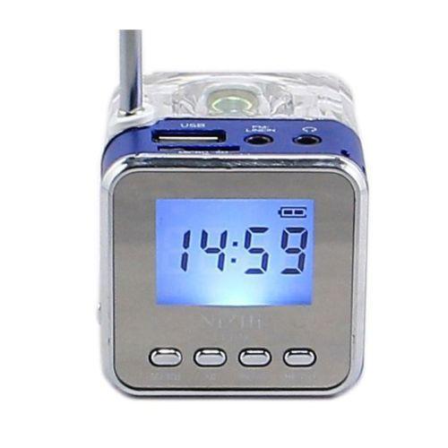 Alarm Clock Usb Mp3 Ebay