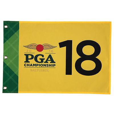 """2016 PGA Championship 20.25"""" x 13.5"""" Pin Flag - Golf"""