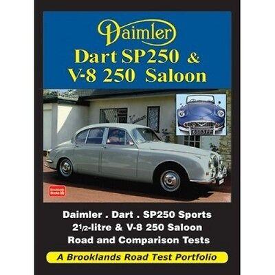 Daimler Dart SP250 & V-8 250 Saloon Road Test Portfolio book paper