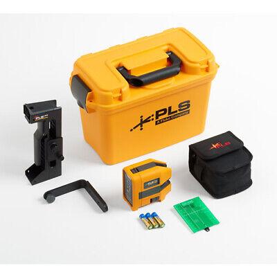Fluke Pls 180g Kit Self-leveling Cross Line Green Laser Level Kit