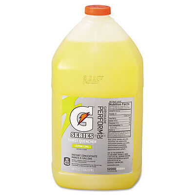 Gatorade Liquid Concentrate Lemon-Lime One Gallon Jug 4/Carton 03984