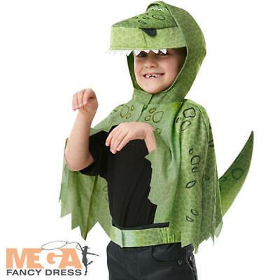 Rex Cape Boys Fancy Dress Disney Toy Story Dinosaur Kids Costume Accessory Set - Disney Rex Kostüm