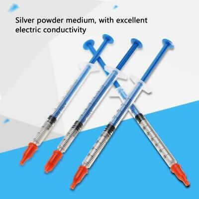 0.20.30.50.7ml Conductive Silver Paste Adhesive Paint Pen Keyboard Repair Fz