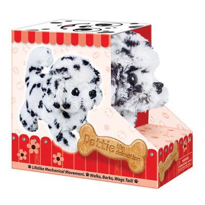 Battery Operated Dalmatian Dog Plush Stuffed Animal Walking Kids Toy Xmas Gift ()